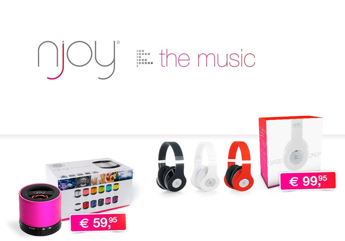 Njoy the music webshop